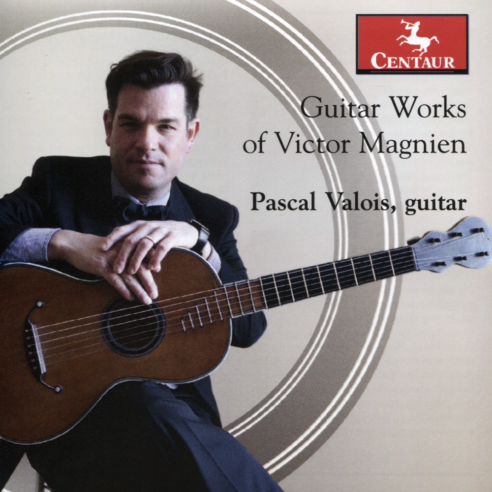 Pascal Valois - Guitar Works Of Victor Magnien (CD)