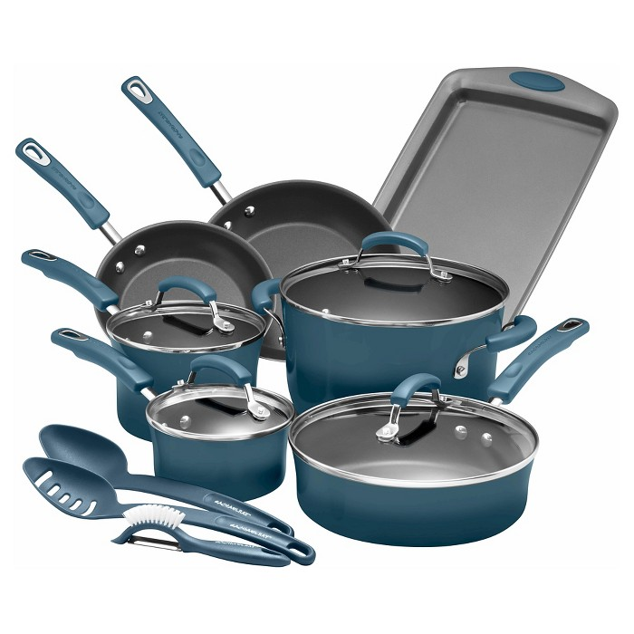 Rachael Ray 14pc Nonstick Cookware Set - image 1 of 6