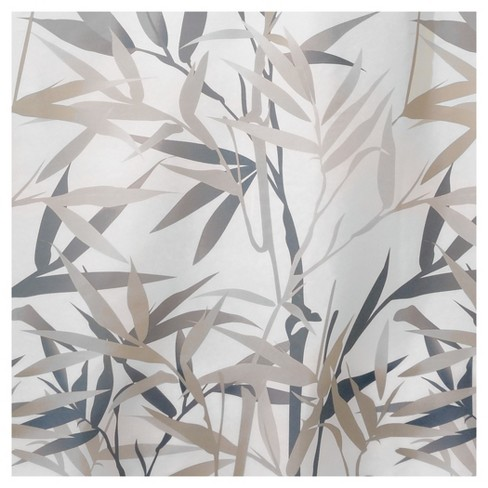 Anzu Fabric Shower Curtain Stall