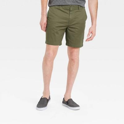 "Men's 7"" Flat Front Shorts - Goodfellow & Co™"