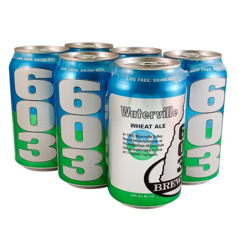 603® Waterville Wheat Ale - 6pk / 12oz Cans - image 1 of 1