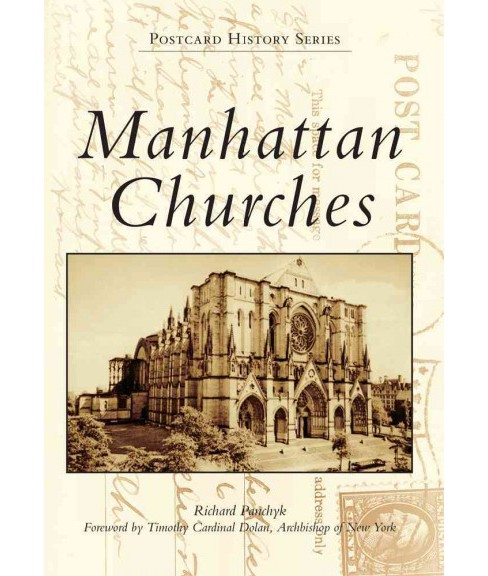 Manhattan Churches (Paperback) (Richard Panchyk) - image 1 of 1