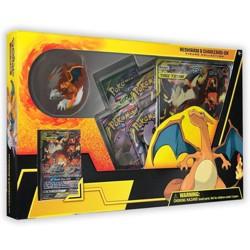 2019 Pokemon Trading Card Game Reshiram/Charizard GX Figure Box