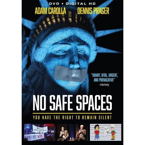 No Safe Spaces (DVD)(2020) - image 1 of 1