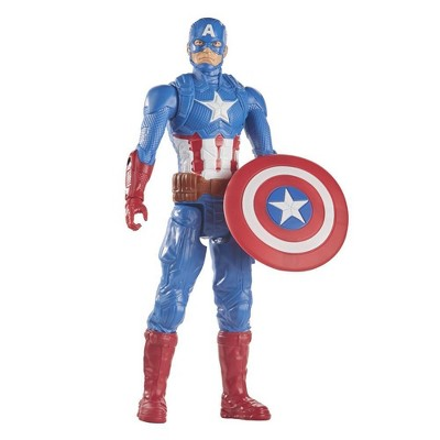 Marvel Avengers Titan Hero Series Captain America Action Figure, 12-Inch Toy, For Kids Ages 4 And Up