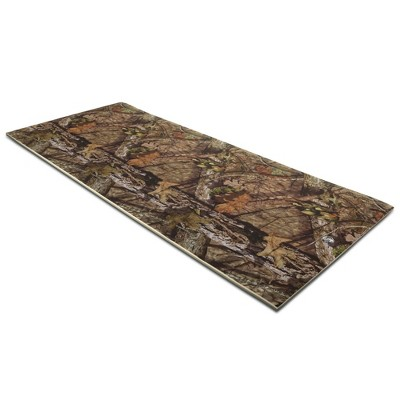 Floatation iQ Floating Oasis 15 x 6 Foot Foam Island Water Pool Lake Lounger Play Pad Mat, Break-Up Country Camo