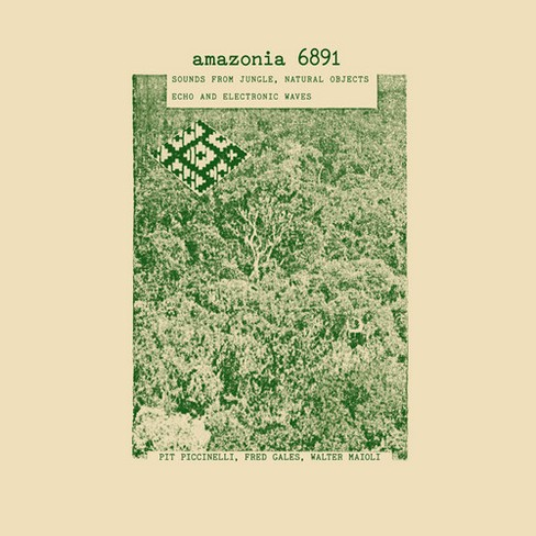 Pit Piccinelli - Amazonia 6891:Sounds From Jungle Natu (CD) - image 1 of 1