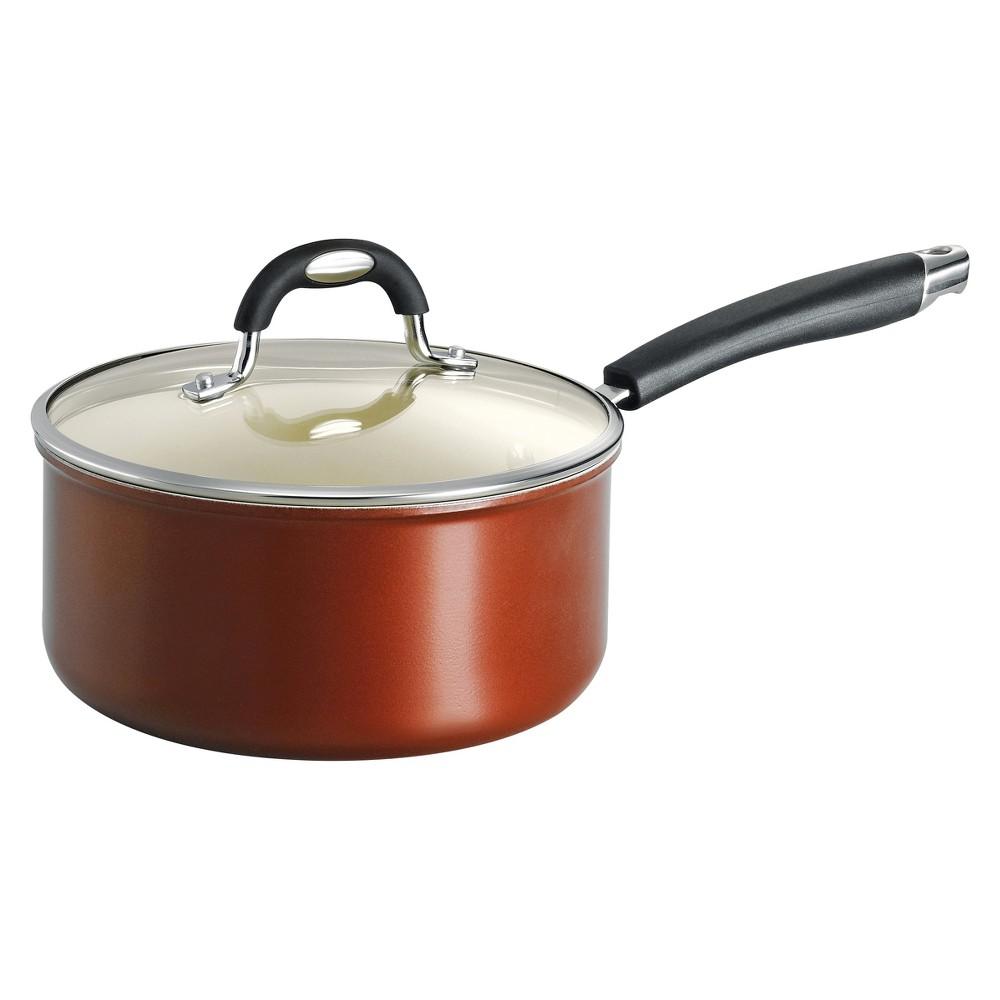 Tramontina Style Ceramica 3 Quart Aluminum Covered Sauce Pan - Metallic Copper