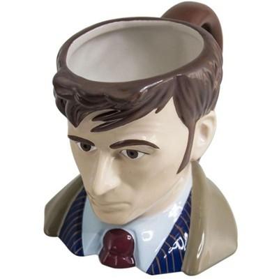 Seven20 Doctor Who Toby Jug 10th Doctor Ceramic Mug