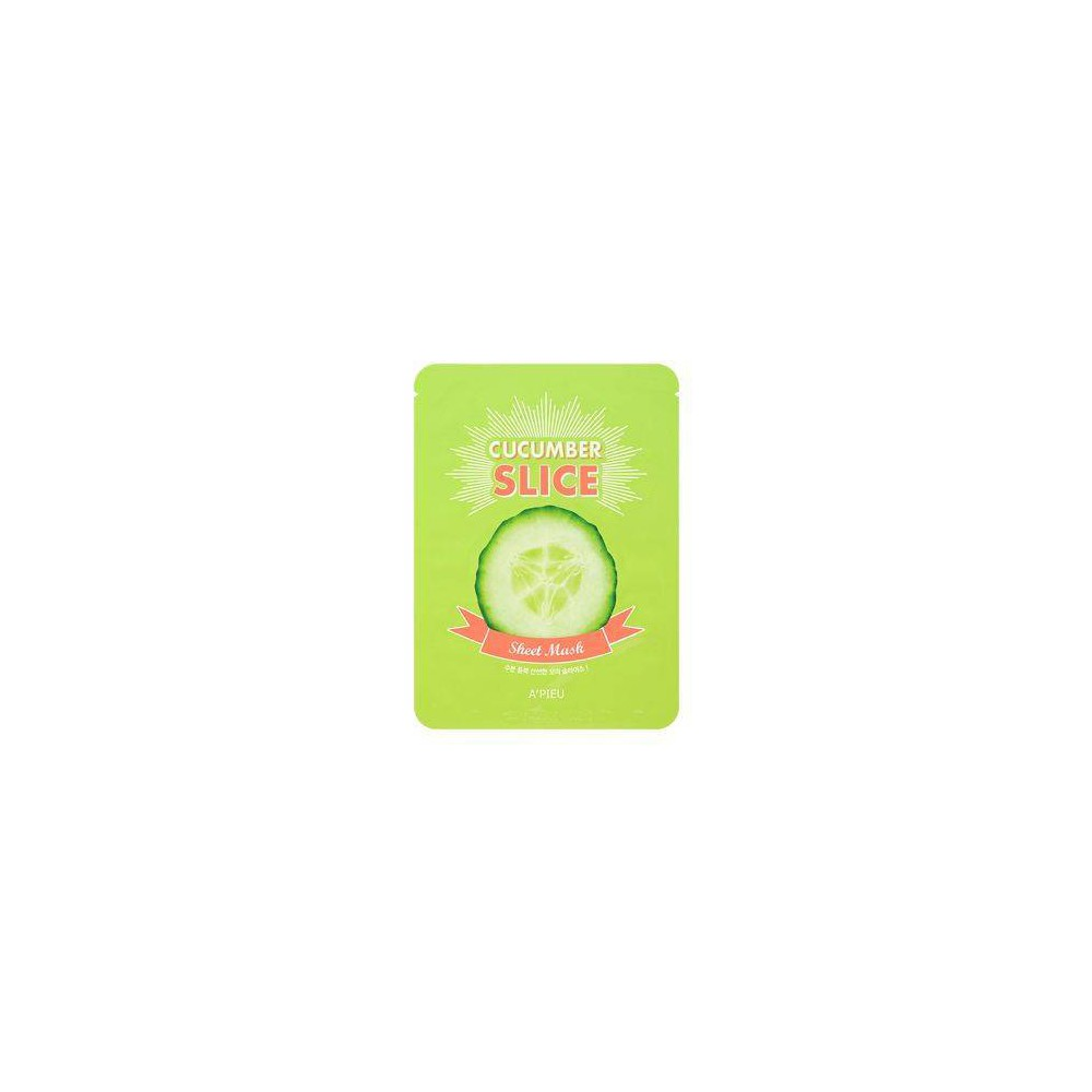 Image of A'PIEU Cucumber Slice Sheet Masks - 12ct
