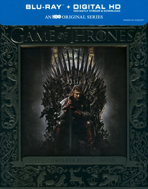 Game of Thrones: The Complete First Season [5 Discs] [Blu-ray] - image 1 of 1