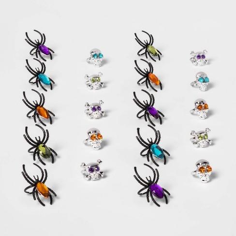 20ct Gem Spider Ring Halloween Party Favor - Hyde & EEK! Boutique™ - image 1 of 1