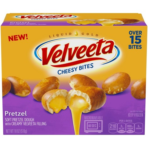 Velveeta Frozen Filled Soft Pretzel Cheese Bites - 18oz - image 1 of 2