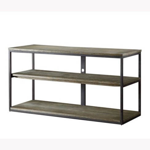 Wells Media Console Table Gray - image 1 of 3