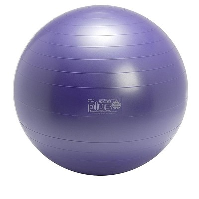 Gymnic Ball Plus 65 Fitness, Exercise and Therapy Ball - Purple
