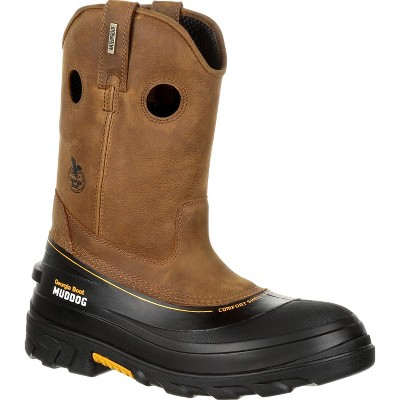 Men's Georgia Boot Muddog Composite Toe Waterproof Work Wellington