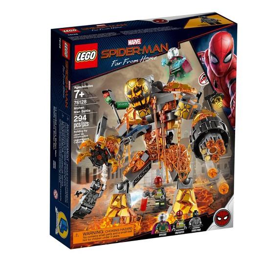 LEGO Super Heroes Marvel Spider-Man Molten Man Battle 76128 image number null
