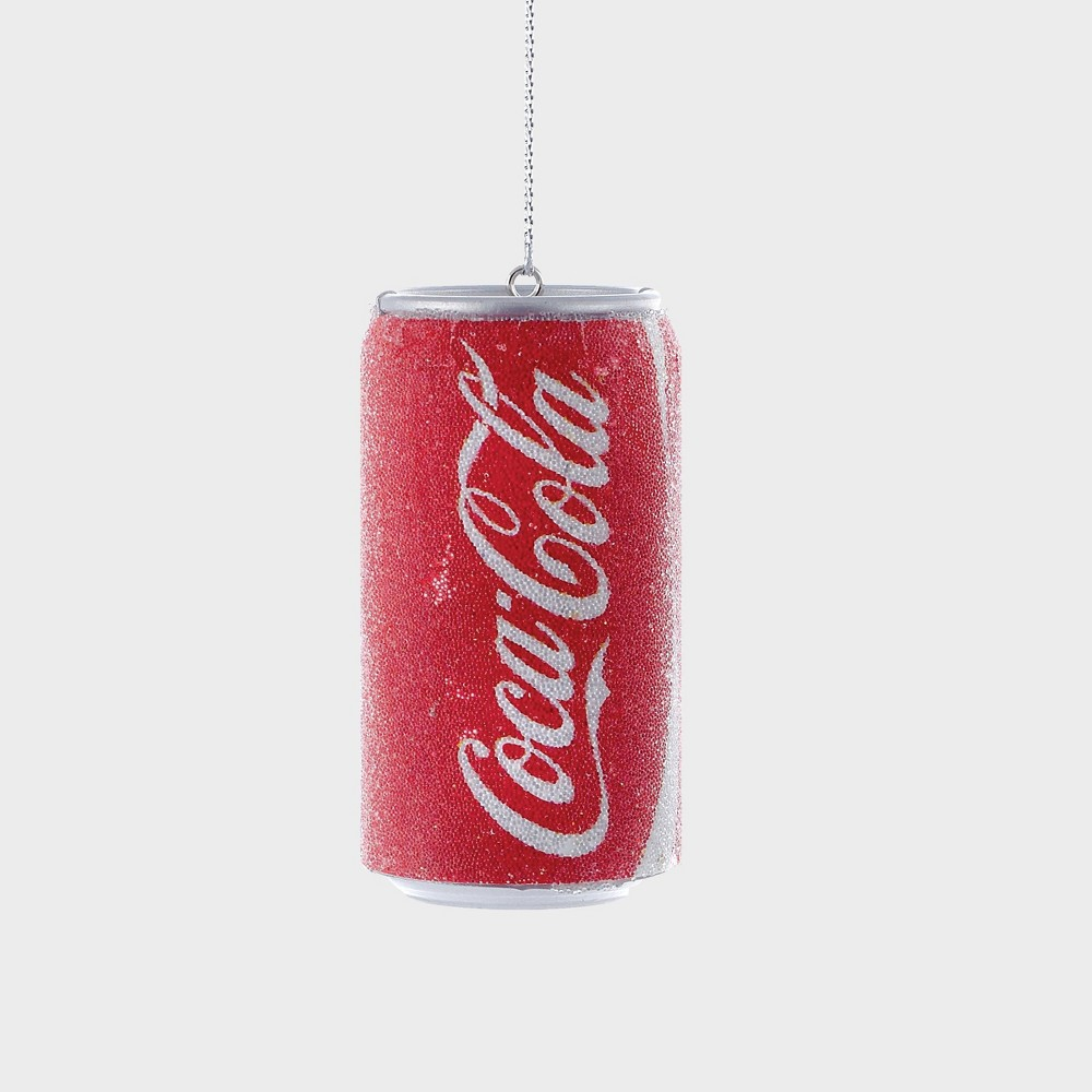 "Image of ""3"""" Coca-Cola Coke Christmas Ornament Red"""
