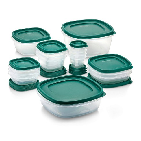 Rubbermaid 30pc Food Storage Container Set with Easy Find Lids Forest Green - image 1 of 4
