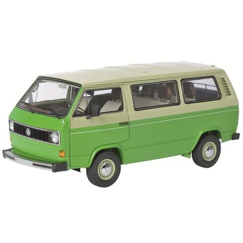 1979-1990 Volkswagen T3 Bus Green/Beige 1/18 Diecast Model Car by Schuco - image 1 of 2