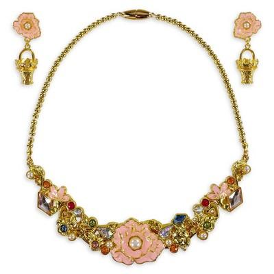 Disney Princess Aurora Costume Jewelry Set