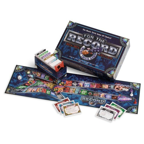 Talicor For the Record: 80's & 90's Edition Game - image 1 of 1