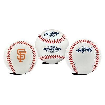 MLB Rawlings Team Logo Baseball