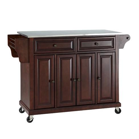 Stainless Steel Top Kitchen Cart/Island - Crosley