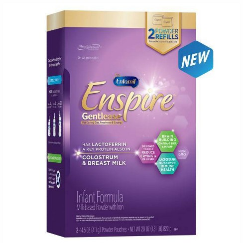 Enfamil Enspire Gentlease Infant Formula with Iron Powder - 2ct/14.5oz Each - image 1 of 4