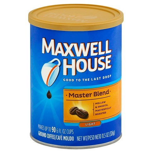 Maxwell House® Master Blend Light Roast Ground Coffee - 11.5oz - image 1 of 3