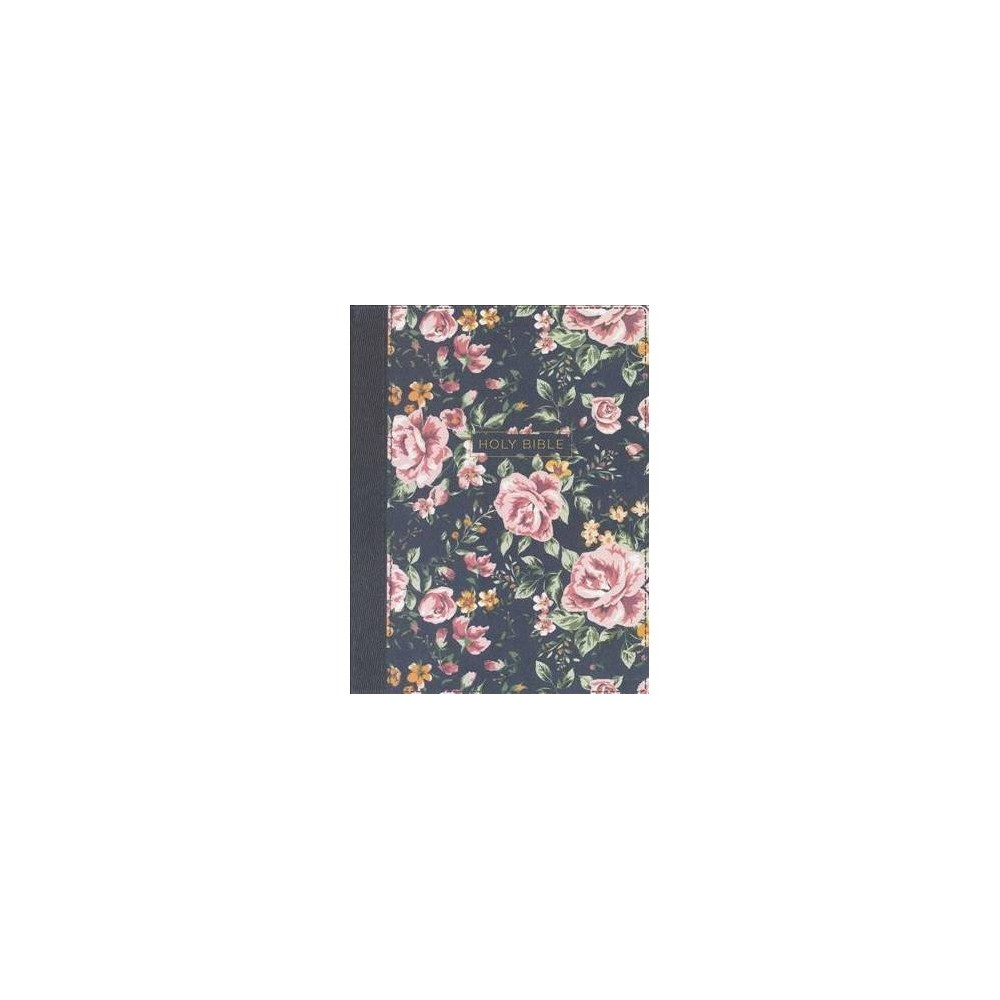 Nkjv Journal the Word Bible : New King James Version, Gray Floral, Cloth Overboard, Comfort Print;