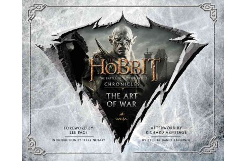 Hobbit: The Battle of the Five Armies : Chronicles: The Art of War (Hardcover) (Daniel  Falconer) - image 1 of 1