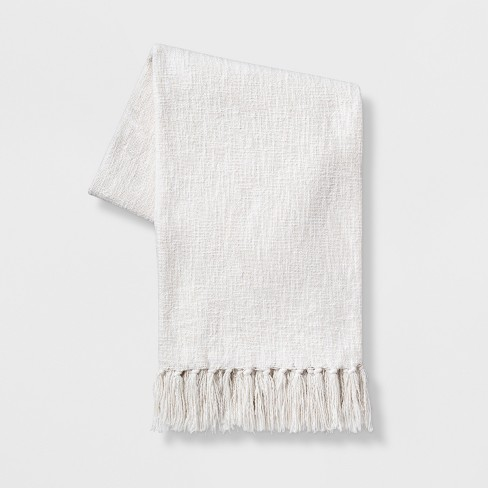 Solid Cotton Throw Blanket - Threshold™ - image 1 of 1