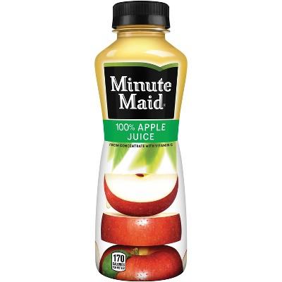 Minute Maid Apple Juice - 15.2 fl oz Bottle