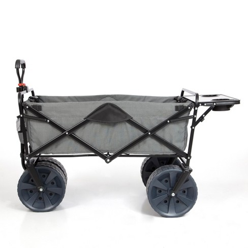 Mac Sports Collapsible Heavy Duty All Terrain Utility Wagon w/ Table, Gray - image 1 of 5