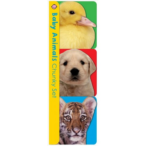 Chunky Pack: Baby Animals Chunky Set - (Chunky 3 Pack) by  Roger Priddy (Board_book) - image 1 of 1