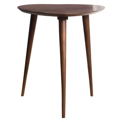 Naja End Table - Wood - Walnut - Christopher Knight Home