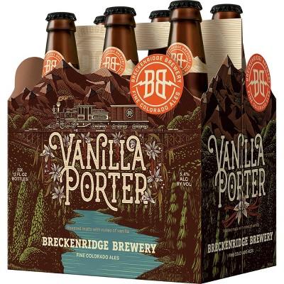 Breckenridge Vanilla Porter Ale Beer - 6pk/12 fl oz Bottles