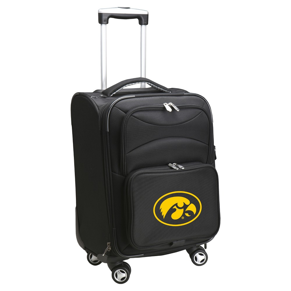 NCAA Iowa Hawkeyes Spinner Carry On Suitcase