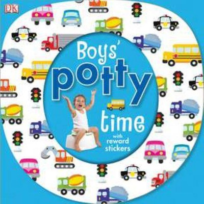 Boys' Potty Time - (Mixed Media Product)