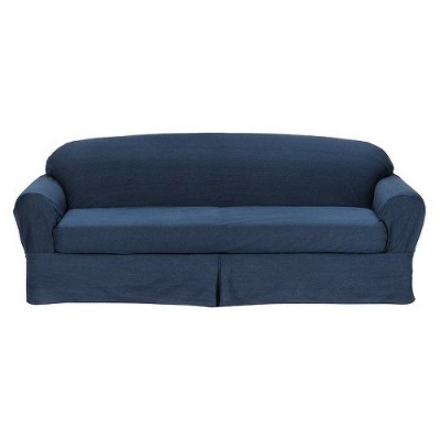 Merveilleux 2pc Casual Home Twill Loveseat/Sofa Slipcover   Target Home