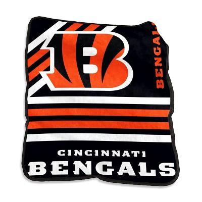 NFL Cincinnati Bengals Raschel Throw Blanket
