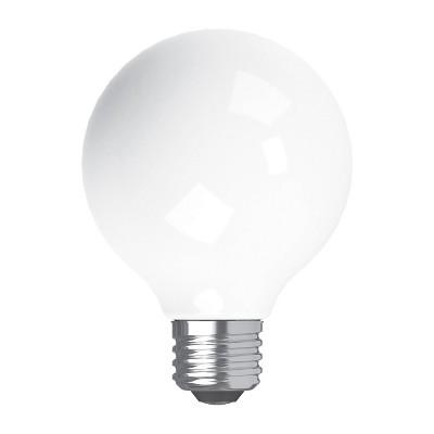 General Electric 2pk 40W Refresh G25 Frost LED Light Bulb White