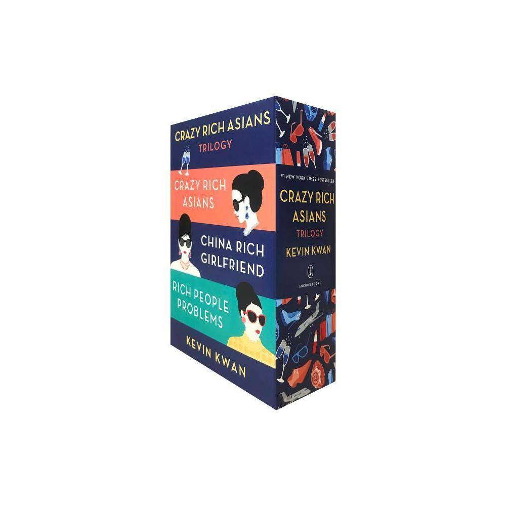 Crazy Rich Asians Trilogy - (Crazy Rich Asians Trilogy) by Kevin Kwan (Paperback) Coupons