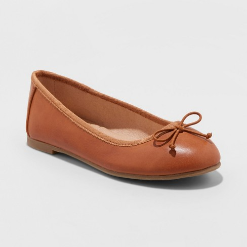 Girls' Stacy Ballet Flat - Cat & Jack™ - image 1 of 4