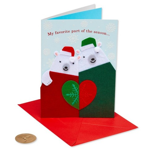 Polar Bears In Sweaters Greeting Card Papyrus