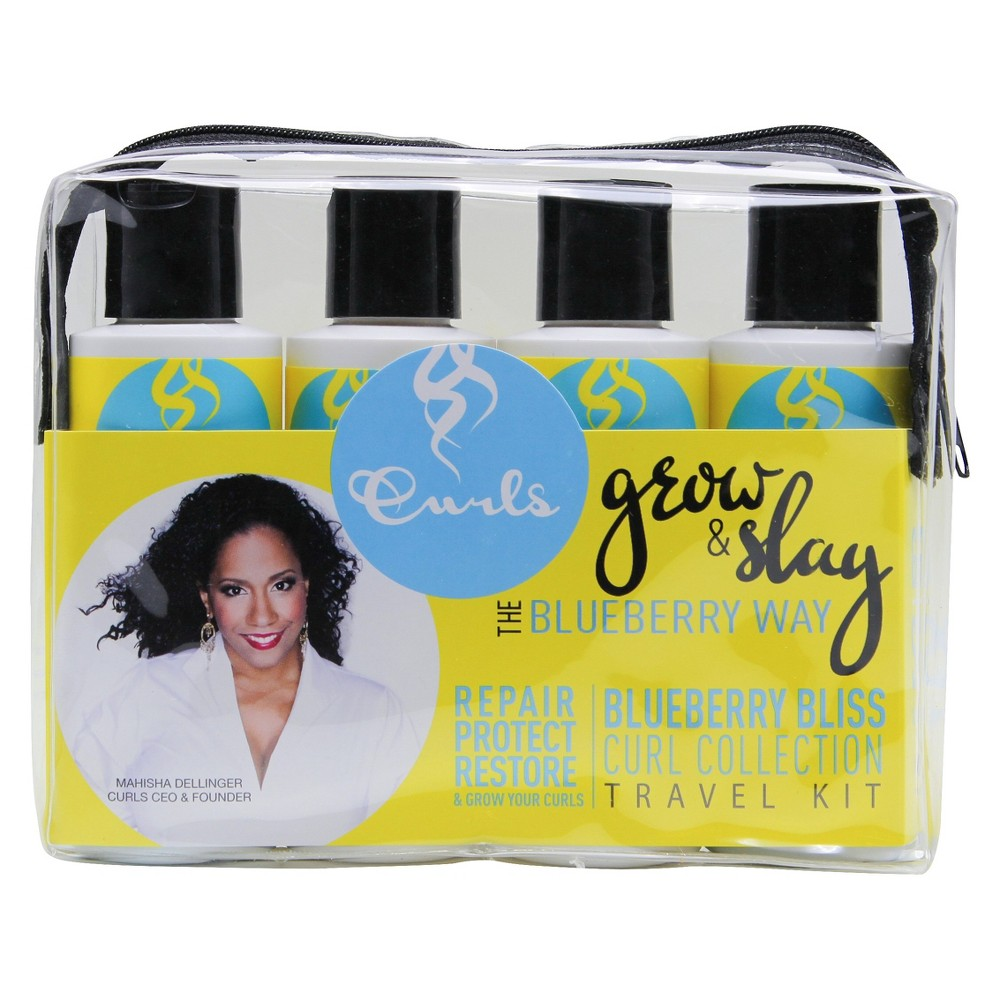 Curls Blueberry Curl Collection Travel Kit
