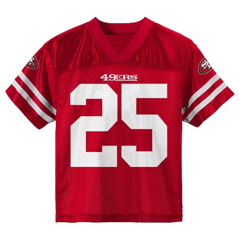 d3ef62f8 San Francisco 49ers Toddler Player Jersey 4T