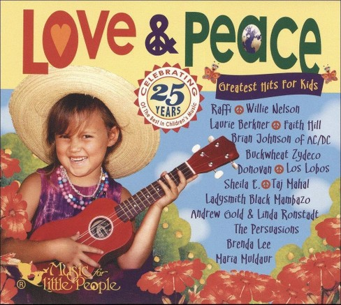 Various - Love & peace:Greatest hits for kids (CD) - image 1 of 2