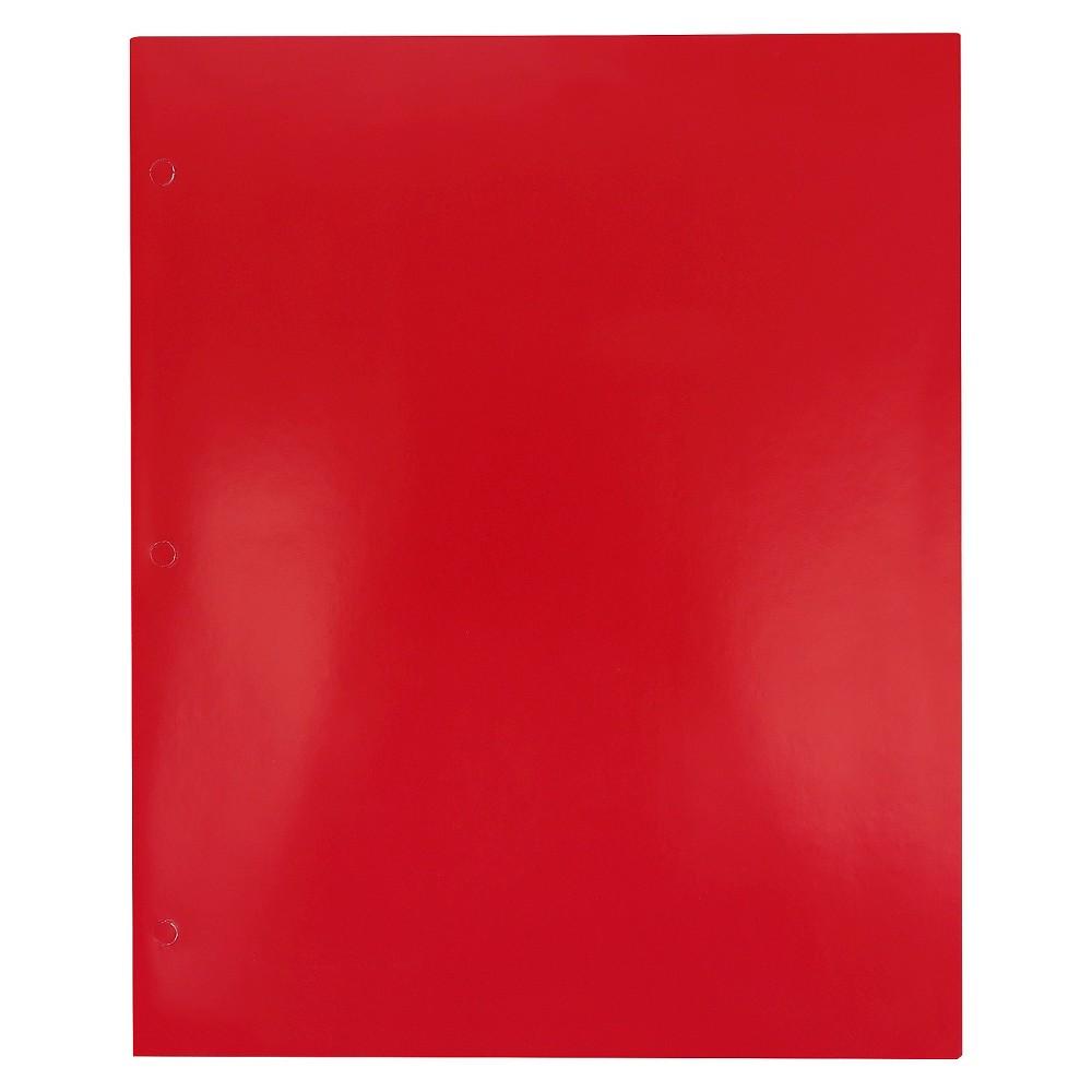 Image of 2 Pocket Paper Folder Red - Pallex